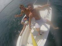 Vita della barca Fotografie Stock