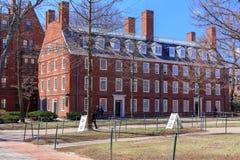 Vita della città universitaria di Harvard Immagini Stock