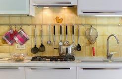 Vita della cucina Fotografia Stock