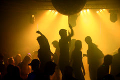 Vita della discoteca Immagini Stock Libere da Diritti