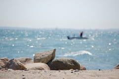 Vita della spiaggia Immagini Stock Libere da Diritti