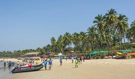 Vita della spiaggia Fotografie Stock Libere da Diritti