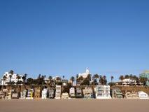 Vita della spiaggia della Santa Monica Fotografia Stock