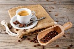 Vita dello stell della tazza di caffè Fotografia Stock Libera da Diritti