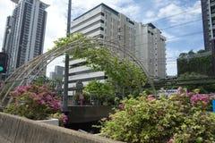 Vita di città a Bangkok Tailandia Fotografia Stock Libera da Diritti