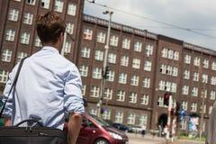 Vita di città della Polonia Wroclaw Fotografia Stock Libera da Diritti