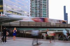 Vita di città di Bangkok Immagine Stock Libera da Diritti