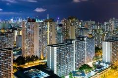 Vita di città di Hong Kong Fotografia Stock Libera da Diritti