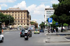 Vita di città di Roma Vista della città di Roma il 1° giugno 2014 Fotografia Stock Libera da Diritti