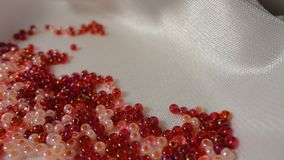 Vita di comodità della casa del beadwork del cucito delle perle fotografia stock