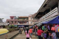 Vita di giorno in Rantepao, Indonesia Immagine Stock