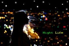 Vita di notte Fotografia Stock