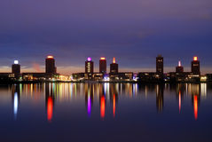 Vita di notte Ypenburg Fotografia Stock