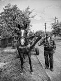 Vita di paese Fotografia Stock Libera da Diritti
