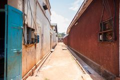 Vita di tutti i giorni nell'Uganda fotografie stock