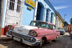 Vita di via cubana Immagine Stock