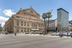 Vita di via della città di Buenos Aires immagine stock