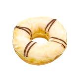 Vita Donuts Arkivbilder