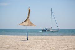 Vita facile della spiaggia fotografia stock
