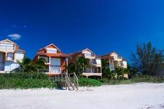 Vita fine della spiaggia della Florida Fotografia Stock