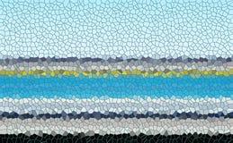 Vita fyrkanter bakgrund, modell för gråa violetblått Royaltyfria Bilder