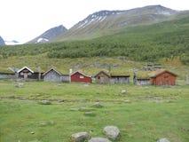Vita in Geiranger, Norvegia fotografia stock