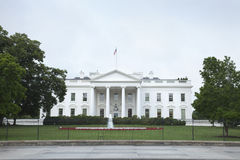 Vita huset i sida för Washington DC-norr Royaltyfria Bilder