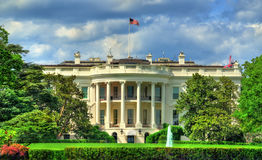 Vita Huset i Washington, DC arkivbild