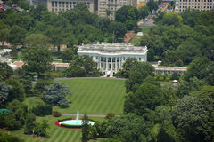 Vita Huset i Washington DC, USA Arkivfoton