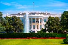 Vita Huset i Washington DC USA arkivbild