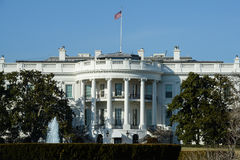 Vita HusetWashington DC Arkivbilder