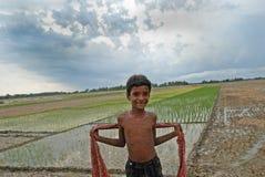 Vita indiana del villaggio Fotografia Stock Libera da Diritti