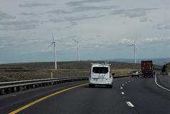 VITA INTORNO I-90 ALLA STRADA PRINCIPALE WASHINGTON Fotografia Stock Libera da Diritti