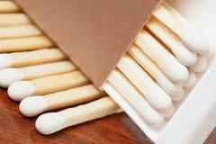 vita isolerade matches Fotografering för Bildbyråer