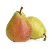 vita isolerade pears Royaltyfria Foton