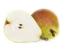 vita isolerade pears Royaltyfri Foto