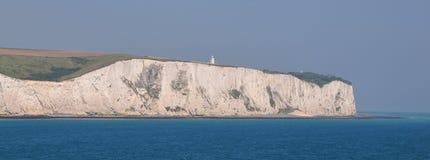 Vita klippor av Dover Royaltyfri Bild