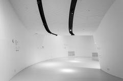 Vita korridorer Arkivbild