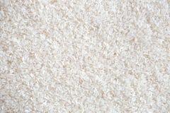 Vita långa rå ris, innan att laga mat Royaltyfri Bild
