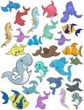 Vita marina - illustrazione Fotografia Stock