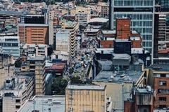 Vita moderna nel ¡ di Bogotà Fotografia Stock Libera da Diritti