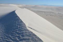 vita nationella nya sands för mexico monument Arkivfoto