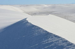 vita nationella nya sands för mexico monument Arkivfoton