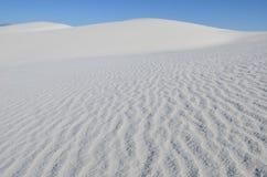 vita nationella nya sands för mexico monument Royaltyfri Fotografi