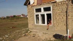 Vita nel Transcarpathia dell'Ucraina di stabilimento di Roma archivi video