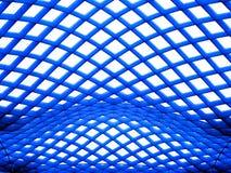Vita nella priorità bassa blu e bianca Fotografia Stock