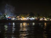 Vita notturna delle Barbados Immagini Stock