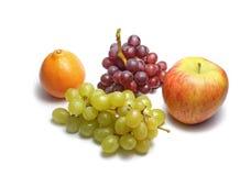 vita nya frukter Arkivbild