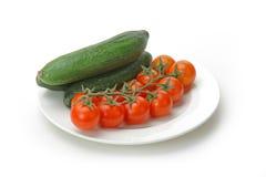 vita nya isolerade grönsaker Royaltyfria Foton