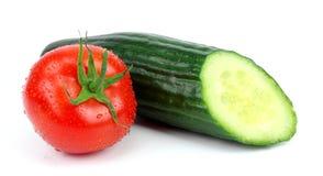 vita nya isolerade grönsaker Arkivfoton